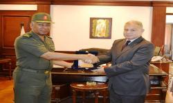 جامعة الاسكندرية تبحث سُبل التعاون مع قوات الدفاع الشعبي
