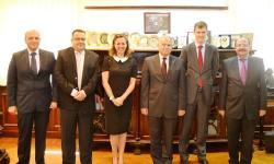 جامعة الاسكندرية تستقبل السفير البريطاني