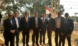 Cooperation between AU Engineering Center and Arab Contractors in Africa
