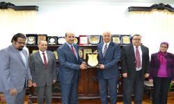 جامعة الاسكندرية تستقبل المستشار الثقافي السعودي