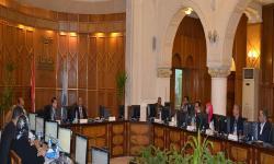مجلس فرع مطروح يناقش استعدادات امتحانات نهاية الفصل الدراسي الأول