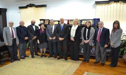 Alexandria University receives a delegation from Alabama University