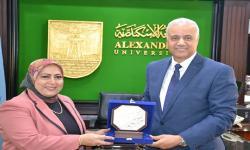 بروتوكول للتعاون بين جامعة الاسكندرية ومديرية التربية والتعليم