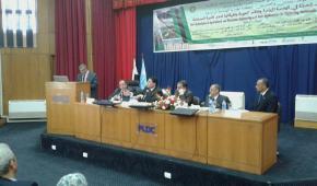 افتتاح مؤتمر الجمعية المصرية للهندسة الزراعية