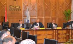 Alexandria University discuses the final arrangements for the diamond jubilee celebration