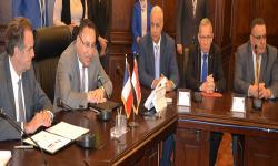 تجديد اتفاقية التعاون بين جامعتي الاسكندرية وأكس مارسيليا