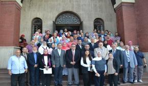 تجديد شهادة الأيزو 9001/2015 لجامعة الإسكندرية