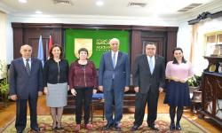 Alexandria University studies increasing students exchange with Aix-Marseille University