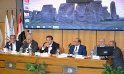 افتتاح برنامج ملتقى الدراسات الطبية لمناقشة مقترح درجة البورد المصري
