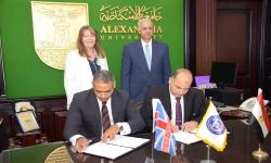 The international Program agreement between the Faculty of Commerce and British universities