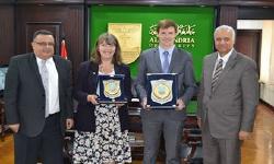 Alexandria University Receives British Ambassador