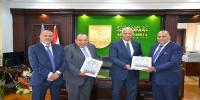بروتوكول تعاون بين جامعة الاسكندرية وشركة قناة السويس للتأمين