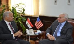 Two centers in Alexandria University financed by United States Agency
