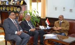 Alexandria University receives Chad Ambassador to discuss ways of academic support in nursing and health sciences