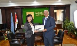 Alexandria University receives Chinese Consul