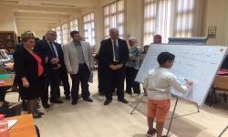 بالصور.. رئيس الجامعة يشهد فعاليات برنامج