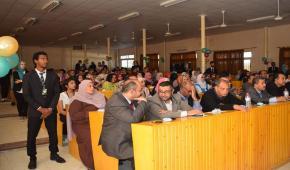 انطلاق المؤتمر السادس لقسم التغذية بكلية الطب البيطري