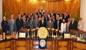Deans of  Alexandria University faculties and institutes