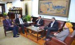 جامعة الاسكندرية تستقبل لجنة وزارة التعليم العالي لتقييم دورها في تطوير العشوائيات