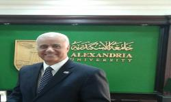 President of Alexandria University to Emirates Al Bayan Newspaper