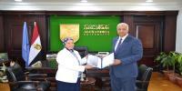 الدكتورة مها أمين عميدًا لكلية التربية الرياضية للبنات