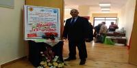 افتتاح معرض دار الفكر العربي بكلية التربية الرياضية للبنين