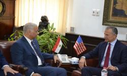 جامعة الاسكندرية تستقبل السفير الأمريكي لبحث سُبل التعاون المشترك