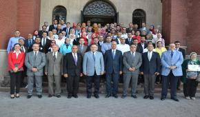 جامعة الاسكندرية تكرم الحاصلين على البرنامج التدريبي لإعداد قيادات الصف الثاني والثالث