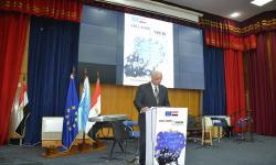 رئيس جامعة الإسكندرية: نسعى لتعزيز فرص الشباب من خلال مشروعات الاتحاد الاوروبي