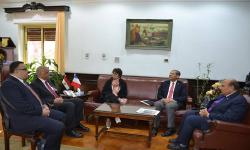 جامعة الاسكندرية تستقبل القنصل الفرنسي لبحث سُبل التعاون العلمي والثقافي والبيئي