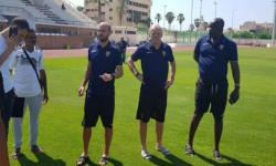استاد الجامعة يستقبل تدريبات الفرق المشاركة في كأس الأمم الافريقية