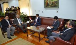 Ambassador of India visits Alexandria University