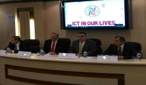 The launching of the ICT Conference at the Faculty of Commerce