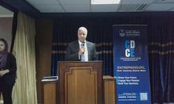 رئيس جامعة الاسكندرية يشهد الحفل الختامي لتجربة تدريس مقرر ريادة الأعمال والابتكار