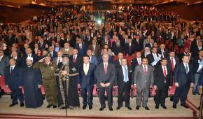 جامعة الاسكندرية تكرم عددًا من رموز المجتمع في يوبيلها الماسي