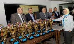 Vice President of Alexandria University attended  the awards ceremony of the 39th Scout of the Alexandria University at the General Administration of Youth Welfare