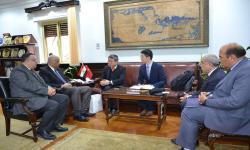 Alexandria University discusses preparations for the establishment of Confucius Institute