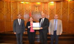 الدكتور عصام الكردي: تجربة جامعة الإسكندرية في ميكنة كافة إداراتها يعد نموذجا يحتذى به في مصر