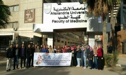 Alexandria University launches a medical convoy to serve the people of El-Labban  area