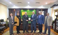 بروتوكول للتعاون مع مديرية الشئون الصحية بالإسكندرية