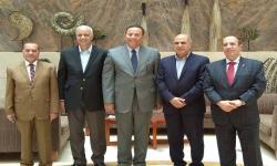 لجنة من المجلس الأعلى للجامعات تزور كليات فرع مطروح