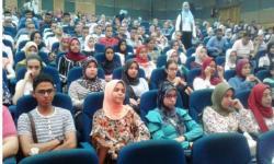 محاضرة بجامعة الاسكندرية تناقش ميثاق الطالب الأخلاقي