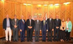 مجلس جامعة الإسكندرية يكرم أعضائه الذين بلغوا السن القانونية للمعاش