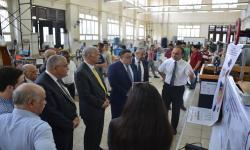 رئيس جامعة الاسكندرية يشيد بإبداعات مشروعات التخرج لطلاب قسم الهندسة الميكانيكة