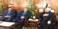 كلية الحقوق تستقبل مفتي الديار المصرية