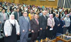 كلية التربية النوعية تحتفل بالاعتماد من هيئة ضمان جودة التعليم