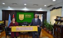 جامعة الاسكندرية تستقبل وفد مؤسسة نيوكورس للخدمات التعليمية والثقافية