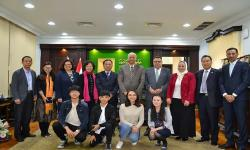 alexandria university host delegation from the University of Ningxia of China