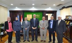 Dr. Essam El-Kordi, President of Alexandria University, congratulated the winners of the state awards from the Academy of Scientific Research and Technology