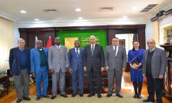 Delegation from Alexandria University to provide consultations for national projects in Guinea